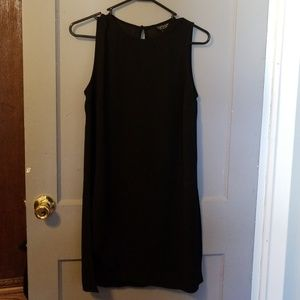 Topshop size 6 black tunic- never worn